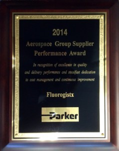 Parker 2014 Supplier Award